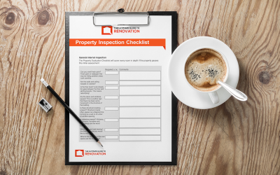 FREE Property Checklist (…How to Renovate for Profit)